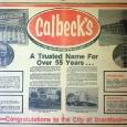 Calbeck's Brantford Cenntennial Ad 1976