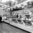 Calbeck's West Brant Meat Counter Early 60's