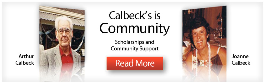 Brantford Calbeck's Community Scholarships